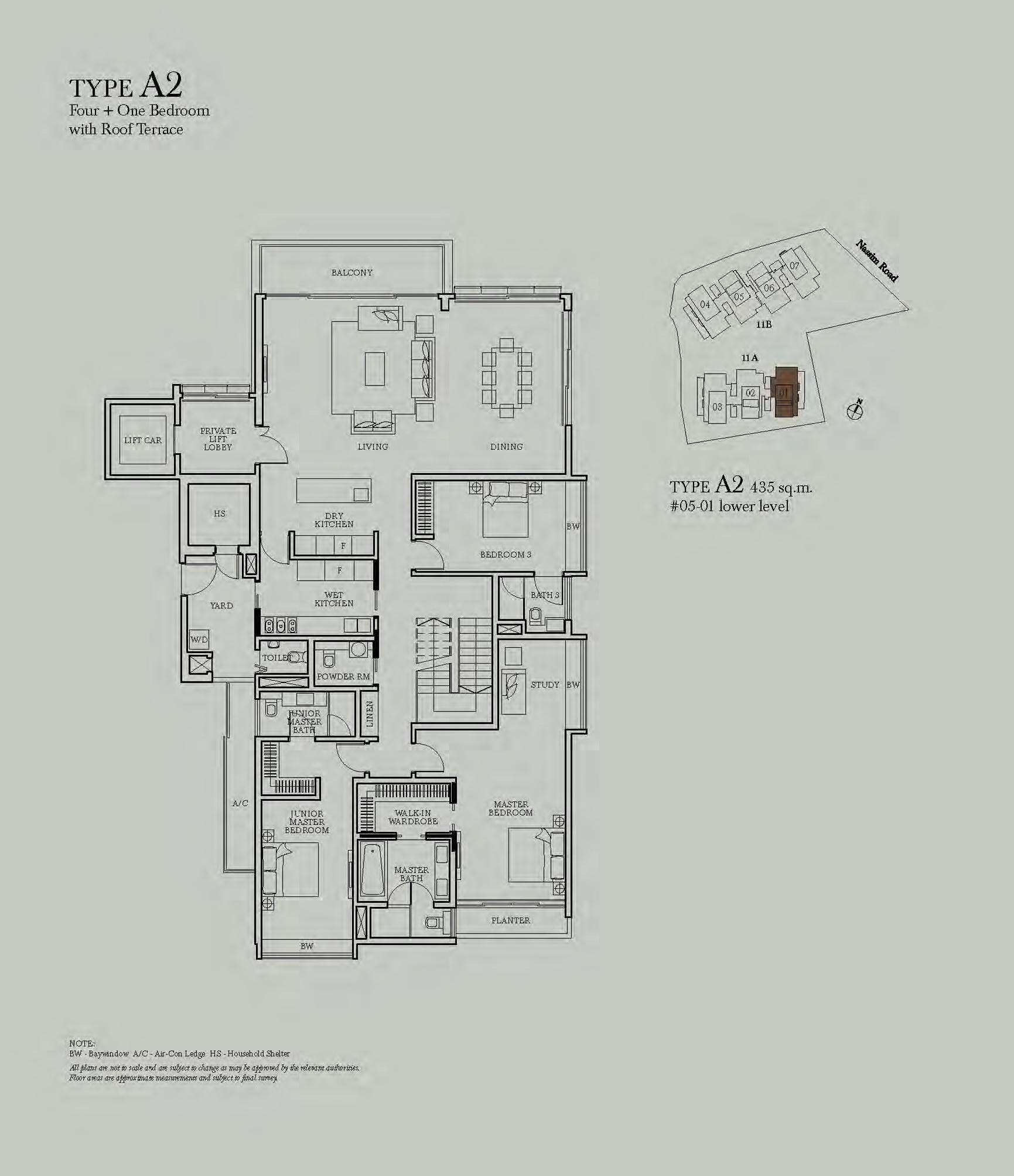 4 Bedroom+S - Sage @ Nassim